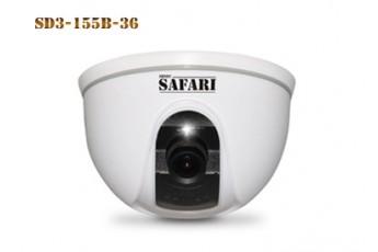Купольная видеокамера наблюдения SD3-155B-36