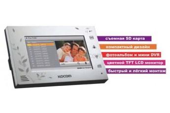 Видедомофон цветной KOCOM KCV-A374SD