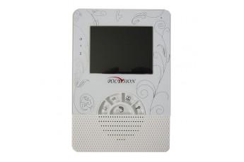Цветной 4-дюймовый видеодомофон Polyvision PVD-406C