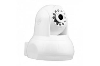 IP-видеокамера с фиксированным объективом, WiFi и аудио для помещений  Polyvision PR2-M1-B4IRMAW-IP