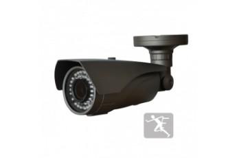 Уличная IP видеокамера с ИК-подсветкой Polyvision LC-N2812IR dark grey