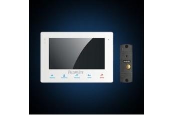 Комплект видеодомофон с вызывной панелью FE-KIT Квартира