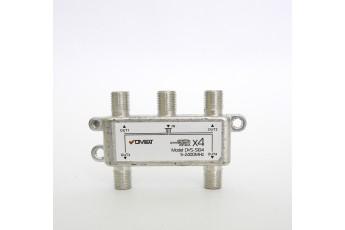 DVS-C104. Конвертор спутниковый круговой на 4 выхода