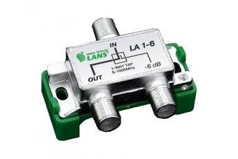 Ответвитель абонентский LA1- 6, 1 отвод