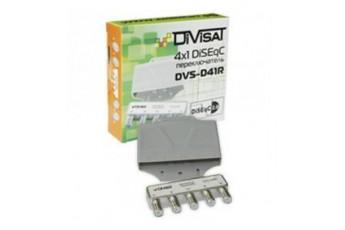 DVS-D41R: DiSEqC переключатель 4х1 в корпусе (200)