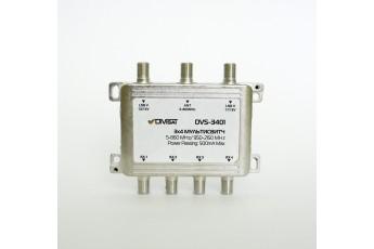 DVS-MS3401: Мультисвич, 2Sat+1Terr / 4 выхода (100)