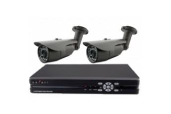 Готовый комплект видеонаблюдения на две камеры