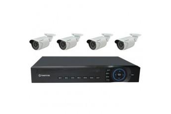 Готовый комплект IP видеонаблюдения Tantos Simpl